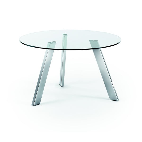 Stół do jadalni Columbia, chromowane nogi