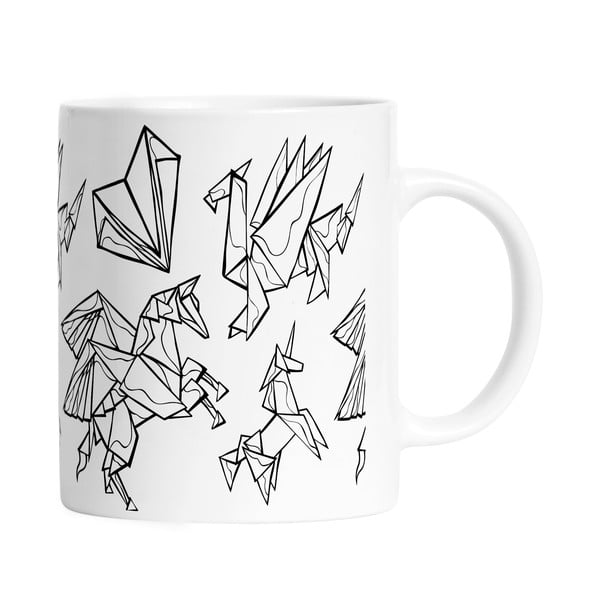Kubek Black Shake Mythic Origami, 330ml