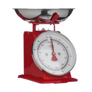 Czerwona waga kuchenna Premier Housewares, 22x26 cm
