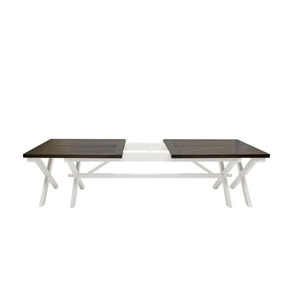 Biały stół do jadalni Canett Skagen Dining, 240 cm