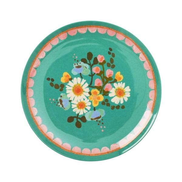 Talerz deserowy Jade Flower
