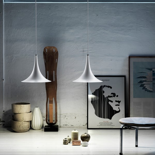 Lampa wisząca Trion 27 White