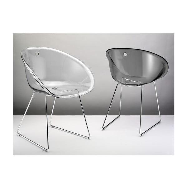 Czarne krzesło Pedrali Gliss 921