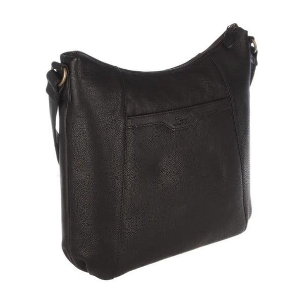 Skórzana torba Emilia Liquorice