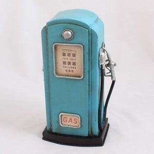 Skarbonka Dystrybutor paliwa, niebieska