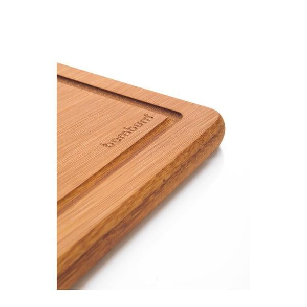 Bambusowa deska do krojenia Yassa, 34x24 cm