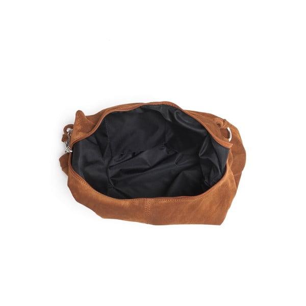Skórzana torebka Mangotti 8003 Cognac
