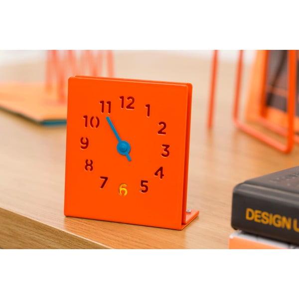Zegar Desk Clock, pomarańczowy