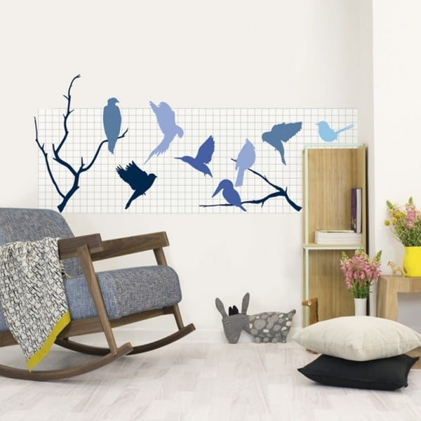 Naklejka Chispum Magnet Wall Sticker Birds