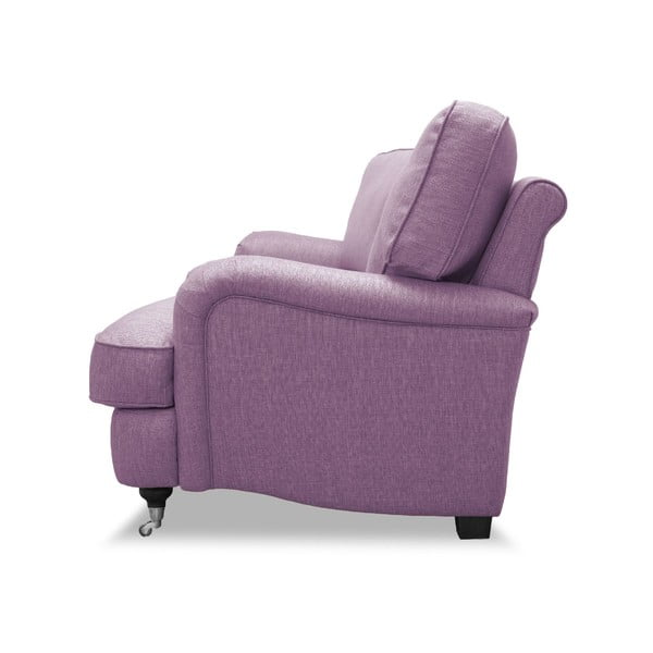 Różowa sofa VIVONITA William