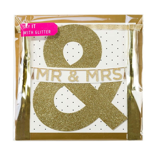 Girlanda Mr & Mrs, 3 m