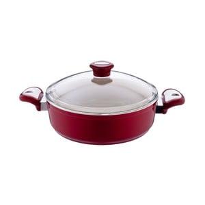Garnek Lux Shallow Red, 3,5 l