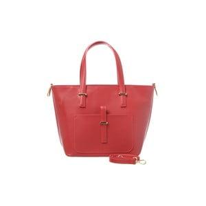 Skórzana torebka Mood Red