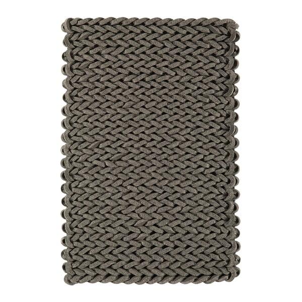 Wełniany dywan Helix Grey, 160x230 cm