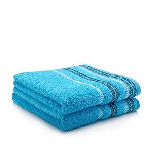Komplet 2 ręczników Hugo Turquoise, 50x90 cm