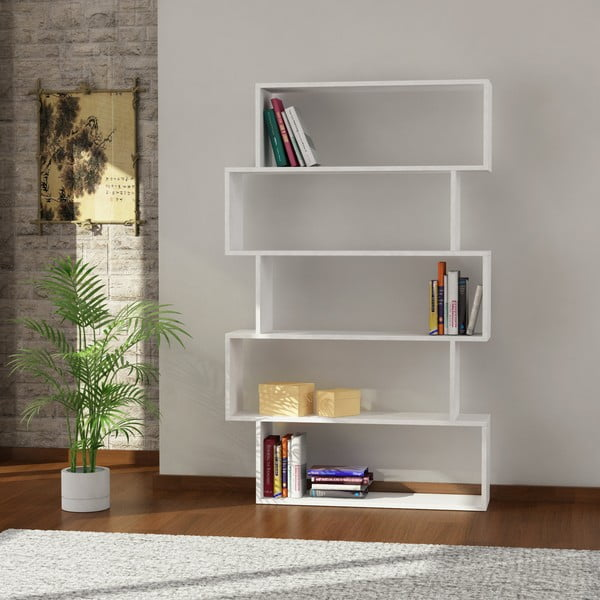 Biblioteczka Kat 161x100 cm White