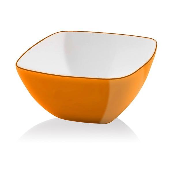 Pomarańczowa miseczka Vialli Design, 14cm