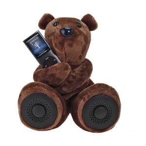 Niedźwiadek z głośnikiem Hi-George, brązowy