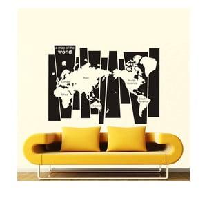 Naklejka dekoracyjna Mapamundi Pop, 82x116 cm