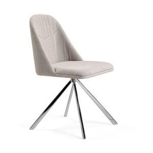 Beżowe krzesło Ángel Cerda Lolla