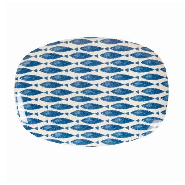 Talerz Couture Fishie, 30x21 cm