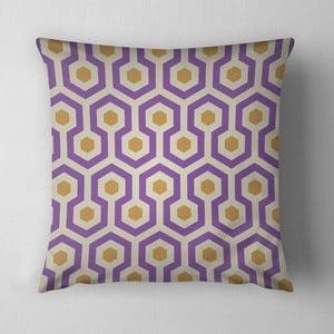 Poduszka Purple Beehive, 43x43 cm
