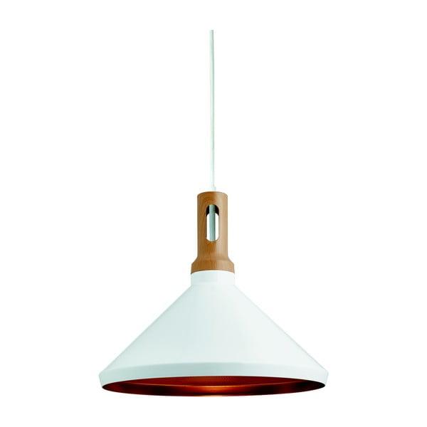 Lampa wisząca Searchlight Cone biała