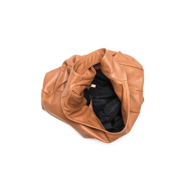 Skórzana torebka Tote 2106 Cognac