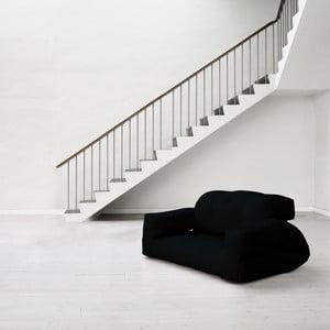 Sofa rozkładana Karup Hippo Black