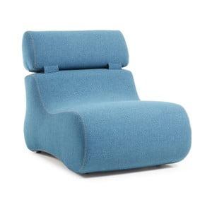 Niebieski fotel La Forma Club