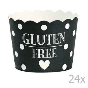 Zestaw 24 papilotek na muffiny Miss Étoile Gluten Free
