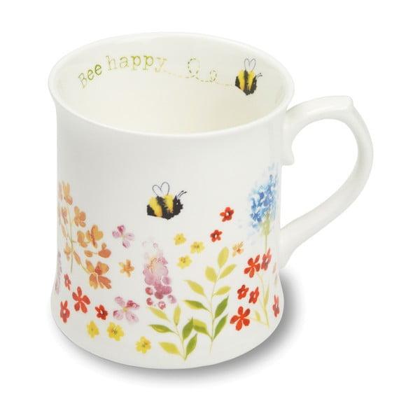 Kubek porcelanowy Cooksmart ® Flowers, 440ml