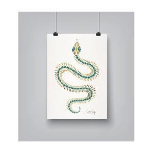 Plakat Americanflat Serpent Skelet, 30x42 cm