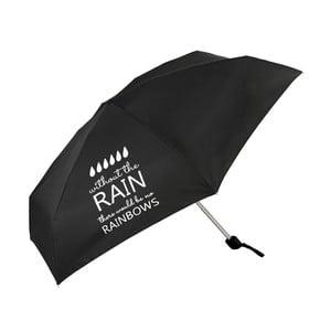 Czarna parasolka Optimistic