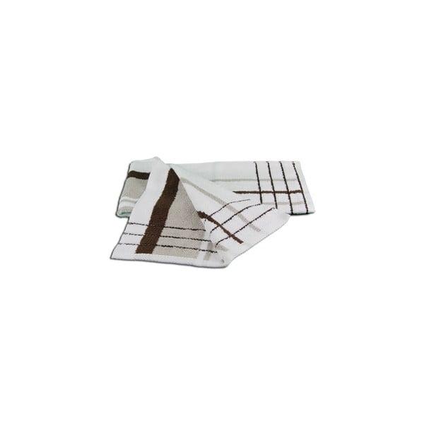 Ręcznik Berlin Taupe/Chocolate, 50x100 cm