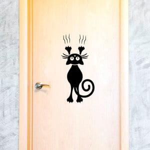 Naklejka Fanastick Cat And The Door