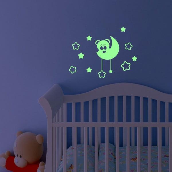 Naklejka świecąca Fanastick Teddy Bear