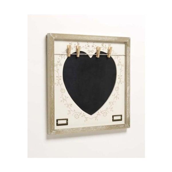 Tablica z klamerkami Heart