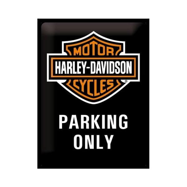 Blaszana tabliczka Motorcycle Parking, 30x40 cm