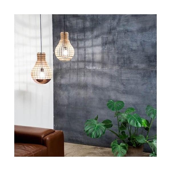 Lampa Wooden Bulb Aura