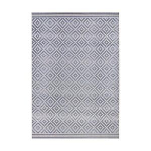 Niebieski dywan Bougari nadający się na zewnątrz Raute, 140 x 200 cm