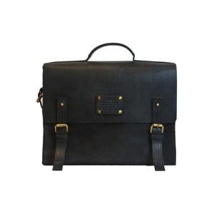 Czarna torba skórzana vintage Dirty Harry