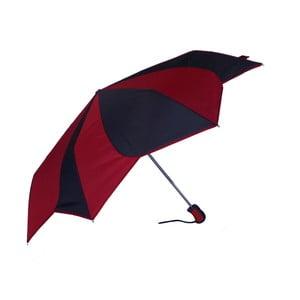 Parasol Pierre Cardin Noir Red, 95 cm