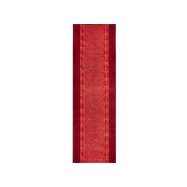 Dywan Basic, 80x300 cm, czerwony