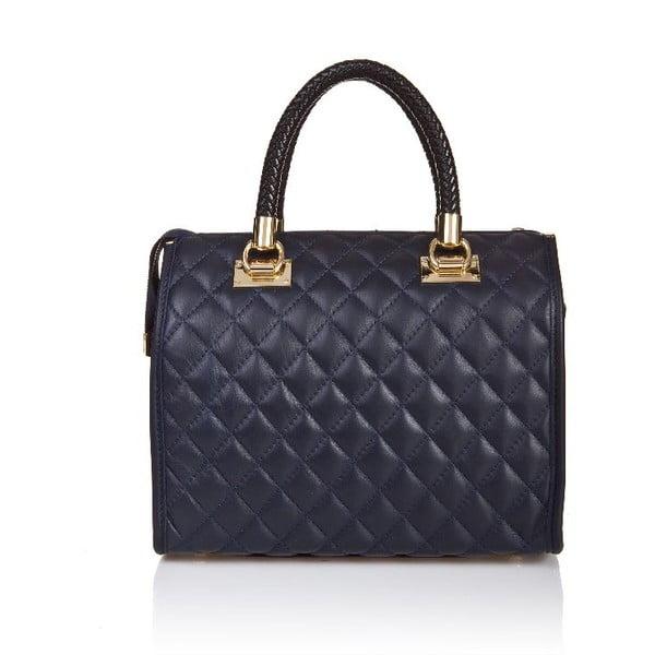 Skórzana torebka Quilted Blue
