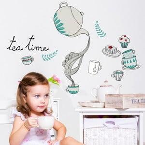 Naklejka Chispum Tea With Cupcake