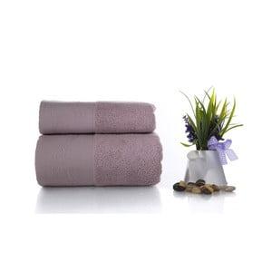 Zestaw 2 ręczników Pretty V6, 50x90 cm + 70x140 cm