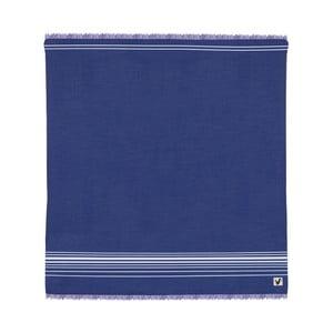 Niebieski ręcznik Origama Flat Seat, 200x200cm