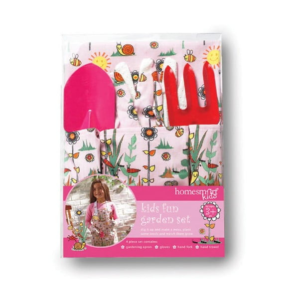 Zestaw narzędzi ogrodowych dla dzieci Cooksmart England Girls Fun