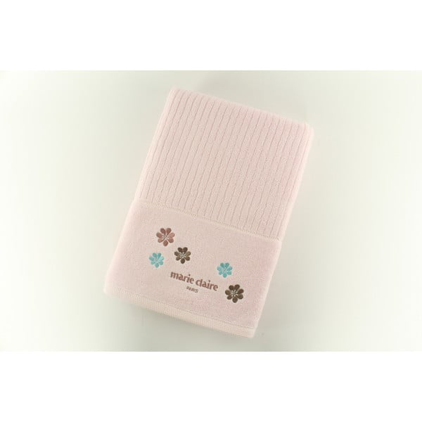 Ręcznik Marie Claire Pink, 70x140 cm